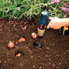 Inspire Uplift Garden Auger Spiral Drill Bit 9 Inch Garden Spiral Hole Drill Planter