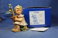 "Goebel Hummel ""Garden Gift"" #619 TMK8 First Issue CV$279 MIB R13935"