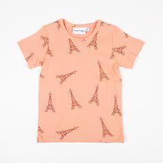 MINI RODINI EIFFELTOWER T'shirt- As seen in LITTLE ONE BABY Magazine | STYLE MILK SHOP - Australian Fashion Online