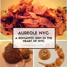 Looking for a romantic restaurant in NYC. Aureole on One Bryant Park is a romantic foodie's dream come true.