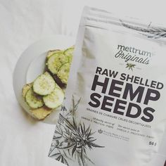 Featured Follower: @thrivewiththeseasons  Sprinkle #MettrumOriginals Raw Shelled Hemp Seeds on just about anything, or eat them on their own for a quick and healthy snack! This morning I made a quick breakfast that involved toast, hummus topped with cucumber and a sprinkle of hemp seeds. Did you know? 2 tbsp of hemp seeds have 9 grams of #protein!  Hemp seeds have a nutty flavour and can be eaten #raw, ground into a meal, sprouted, made into hemp milk and hemp juice, prepared as tea, and…