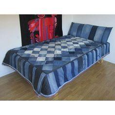 Denim bed, do you wanna have this one denimian?? Superb cool! . . . . . . . . .  #denim #denimsquad #denimevolution #denimday #denimfades #drydenim #denimoutfit #fashion #fadeoftheday #rawdenim #rigiddenim #dairyofthefade #outfit #menswear #mensfashion #superdry #selvage #selvedge #selvagedenim #selvedgedenim #denimbed #creativedenim #washeddenim #bed Photo from pinterest