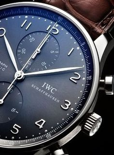 IWC Mens Watch Codeblack Men's Fashion