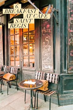 Le Saint Regis is a cafe located on the island of Ile Saint-Louis, just south of Le Marais. Every time I am in town I find myself grabbing breakfast here numerous times. The food is great, reasonably priced, and even more importantly - the ambiance is great and very Instagram friendly