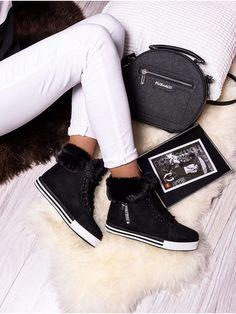 Teplé čierne snehule s kožušinou MNNB251-1C Outfit, Winter, Shoes, Fashion, Outfits, Winter Time, Moda, Zapatos, Shoes Outlet