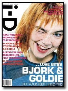 Björk Las mejores portadas de revistas y magazines