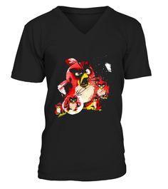 Birds Reds T-Shirt bird watching shirt,bird watching t shirt,