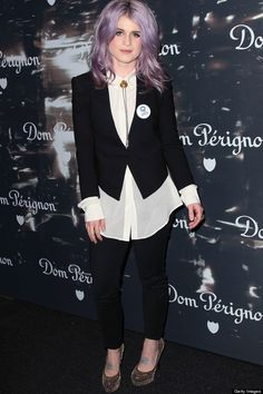 Kelly Osbourne // I would never be able to pull her looks off but still love!