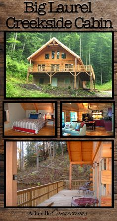 BRING YOUR FISHING RODS for the ultimate luxury NC mountain lodge vacation! Your family will love this 2 bedroom chalet!! Book now!