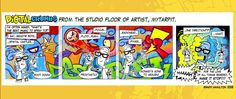 This is the first strip which was put up on www.digitalcrumbscomic.com as a teaser... oooooh!