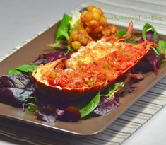 Funke Koleosho's Food Blog: Peppered Lobster