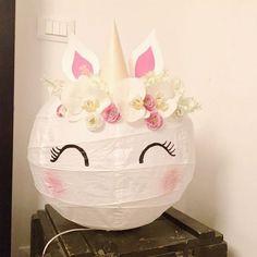 mommo design: IKEA HACKS FOR KIDS - Unicorn from Regolit lamp