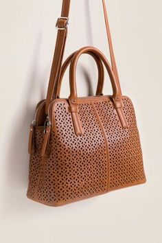 Alice Perforated Satchel