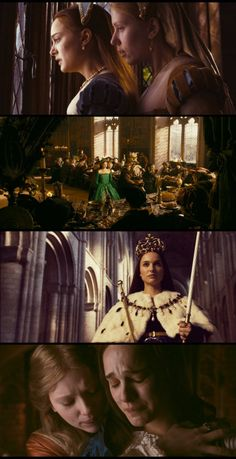 King Henry VIII: Why are you here for her? Mary Boleyn: Because she is my sister, and therefore one half of me. Anne Boleyn, Mary Boleyn, Love Movie, I Movie, Movies Showing, Movies And Tv Shows, Best Period Dramas, Philippa Gregory, The Other Boleyn Girl