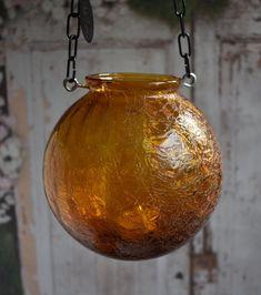 Wedding lantern vintage amber mason jar alternative | Etsy