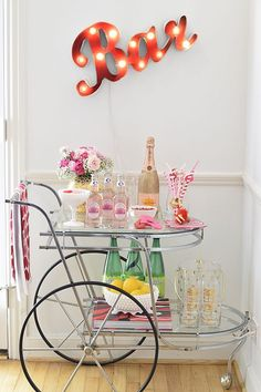 Valentine's Day Bar Cart | MURPHY'S LAW