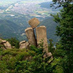 地蔵岩、御在所岳、三重県