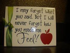 Teacher gift...