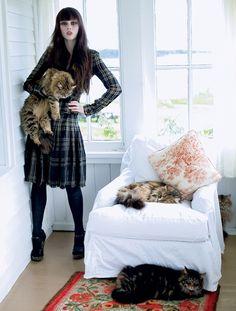 Coco Rocha for Vogue (2011)