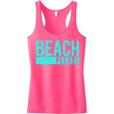 Beach Please Tank Top Beach Clothes Beach Tank Workout Shirt Gym Tank... ($25) ❤ liked on Polyvore featuring tops, shirts, tank tops, tanks, light pink, t-shirts, women's clothing, pink racerback tank, light pink shirt and summer tanks