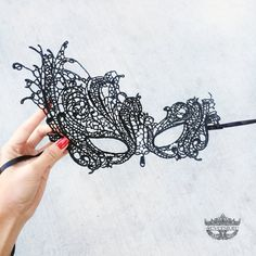 We curate the most intricate masquerade masks with the finest quality materials and craftsmanship.    Materials/Techniques: high quality macrame lace,