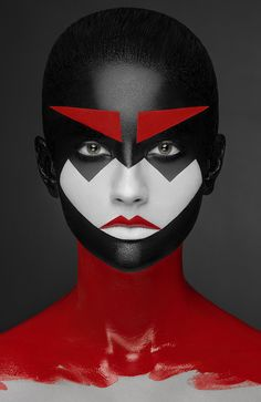 geometry makeup on Behance
