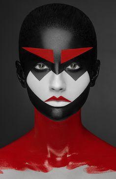 geometry makeup on Behance
