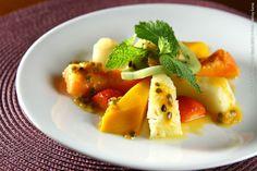 Piccola Forneria - Santos (jantar)    Macedonia  Frutas da estação