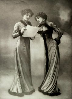 1909, Les Modes (Paris)  Robe Princesse and Robe Directoire by Goldenberg