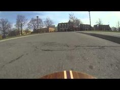 Tour of campus via longboard!
