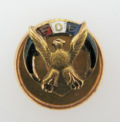 a308 Vintage Collectible Fraternal Order of Eagles Lapel Pin by Timekeepersolive on Etsy