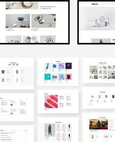 브랜드에 온라인 샵을 더하다 CJ ENM Shop+ | Works | Practical UX VinylC