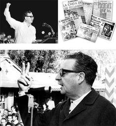 """""""La pretensión de la prensa es desmoralizar al pueblo"""" - Por Salvador Allende"""