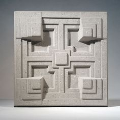 "Frank Lloyd Wright ""Storer House"" Decorative Wall Tile"