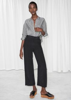 Straight Fit Trousers 690 SEK & Other Stories