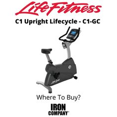 The C1 Lifecycle from Life Fitness is an upright exercise bike which delivers a seated cardiovascular workout in your home for efficient calorie burning and weight loss. With standard self-balancing pedals with ratcheting straps and ergonomically-designed, racing style handlebars, this traditional exercise cycle is precisely engineered to deliver the most natural upright riding position to ensure a comfortable, effective workout. Exercise Cycle, Upright Exercise Bike, Upright Bike, Eddy Current, Races Style, Cardio Equipment, Cycling Workout, Burn Calories, Racing