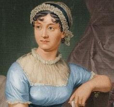 Jane Austen; novelist, laser-sharp observer of people and society.