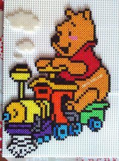 Winnie the Pooh hama perler beads by deco.kdo.nat