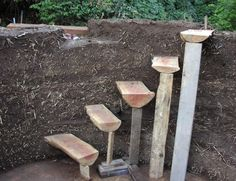 STAIRS cob construction
