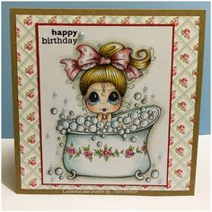 My Besties/ Sherri Baldy/digi/stamp/ Etsy/ bubble bath/ made by Ness butler/ card making/ https://www.etsy.com/transaction/1099754310