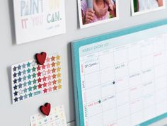 Family Command Centre: Step Four // Fill in your Chore Pad ahead of each week and stick this on your Magnetic Board in your Command Centre. Colour code each family member's responsibilities and tick them off with a star sticker. You could design a reward system too, where children are rewarded for doing their chores on time and without complaints. Click for more on the blog xx