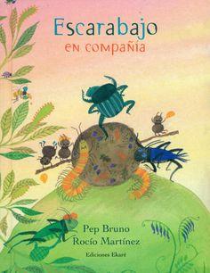 Libro: Escarabajo en compañía. En Canal Lector. Leo Lionni, Working With Children, Activities, Movie Posters, Eric Carle, Assessment, Children's Library, Children's Literature, Children Books