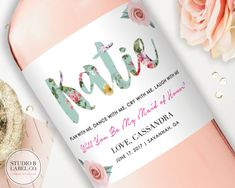 Amazing Bridesmaid Gifts or Ask Gifts for your best day ever! We call this one: Floral Love  ▬▬▬▬▬▬▬▬▬▬▬▬▬▬▬▬▬▬▬▬▬▬▬▬▬▬▬▬▬▬▬▬▬▬▬▬ TO CUSTOMIZE YOUR