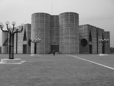 National Assembly Building of Bangladesh by Rhodri R Davies - Louis I. Kahn Architect