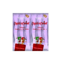 Cupid & Comet 6 Turkey & Cranberry Cat Sticks The Pet Warehouse Christmas Gift For You, Christmas Cats, Christmas Presents, Decorating With Sticks, Holidays With Kids, Xmas Tree, Cupid, Your Pet, Turkey