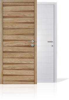 Spacva solid wood interior door made of Slavonian oak.