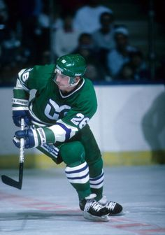 Ray Ferraro of the Hartford Whalers skates on the ice during an NHL game  against the 060e5f57e
