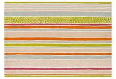 Rodrig Rug, Orange/Multi on OneKingsLane.com