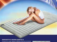 Stuoia biomagnetica polarizzata matrimoniale cm.160x190 anti elettrosmog - magneto terapia