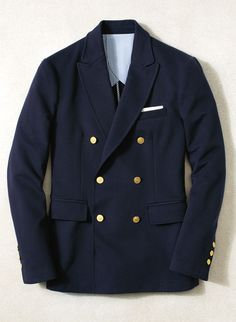 Double-breasted, single-breasted or unconstructed, the Brooks Brothers navy blazer is a classic icon that bridges the generation gap.